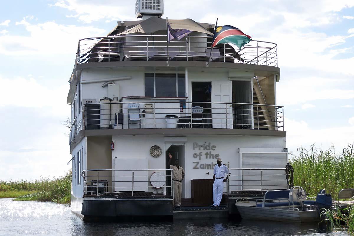 Pride of The Zambezi Houseboat