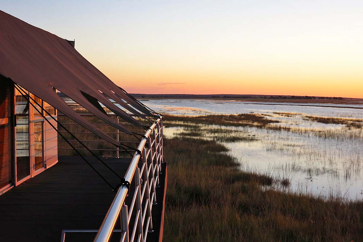 Chobe Houseboat Sunset