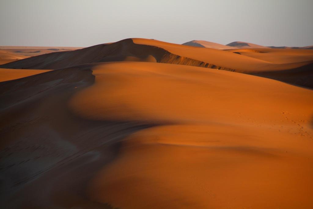 Desert dunes of Swakopmund