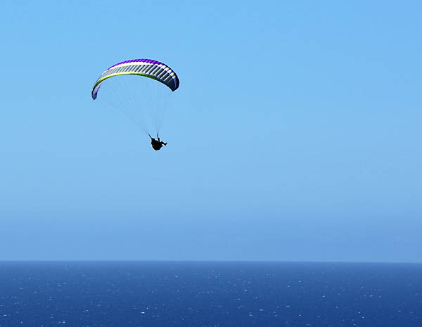 Paragliding at Wilderness