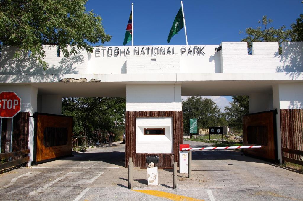 Etosha Entrance