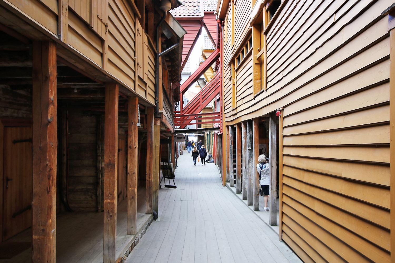 Alleyway at Bryggen