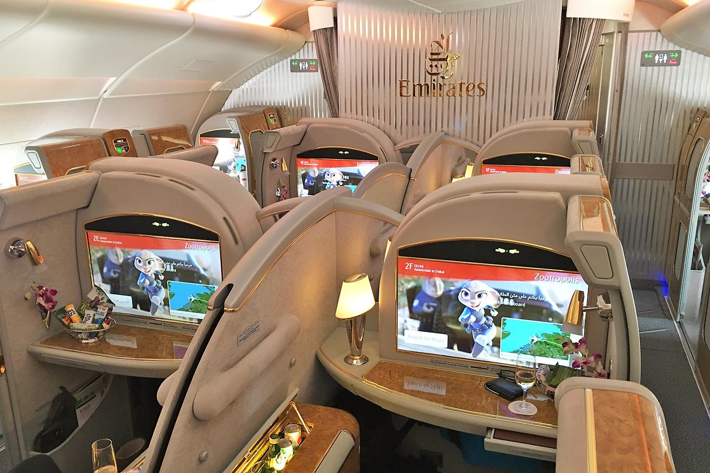 Emirates 1st Class
