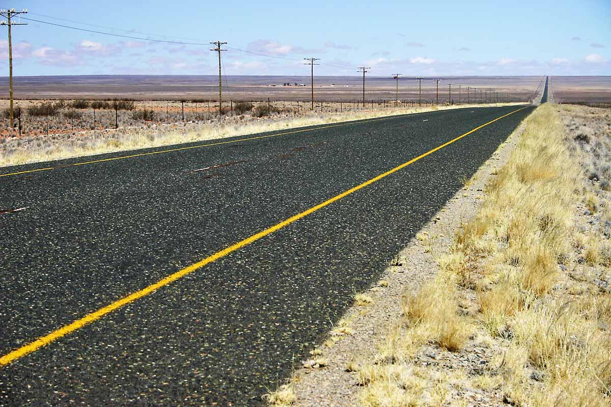 Kalahari Open Road