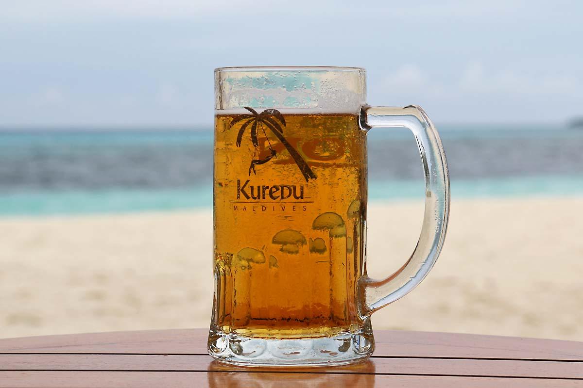 Kuredu Island Beer
