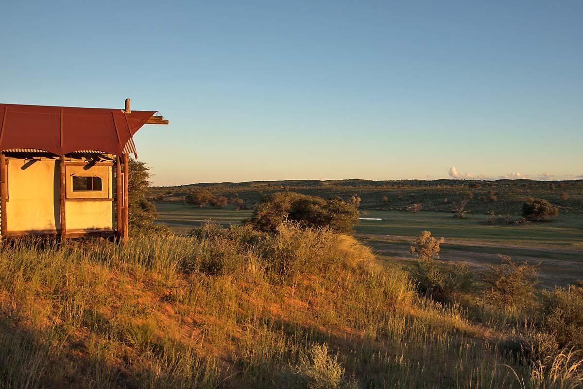 Kalahari Tented Camp Sunset