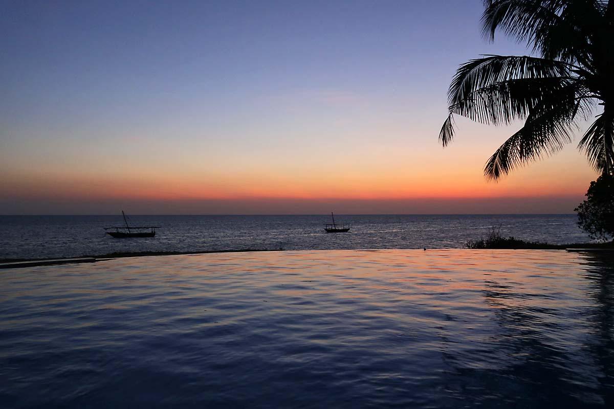 Fumba Beach Lodge Sunset